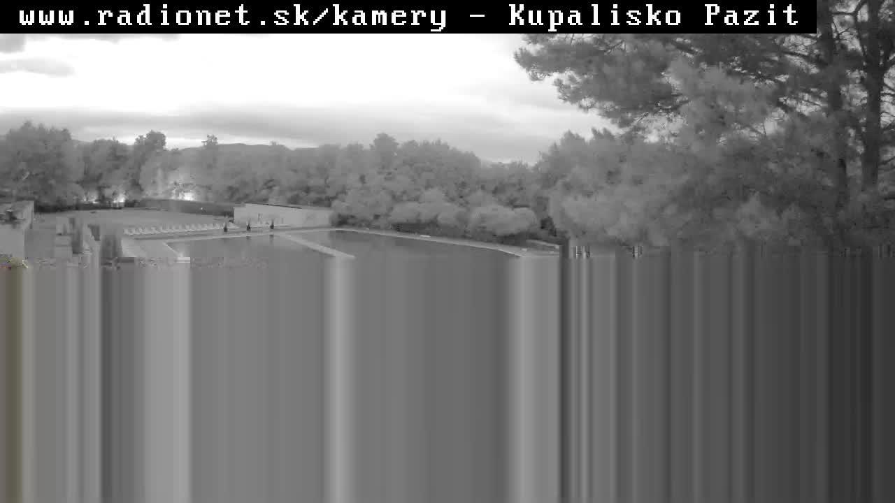 Webkamera kupalisko pažiť Banovce nad Bebravou